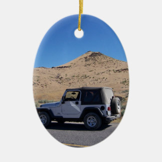 Jeep Ceramic Ornament