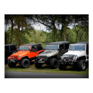 Jeep Club Postcard