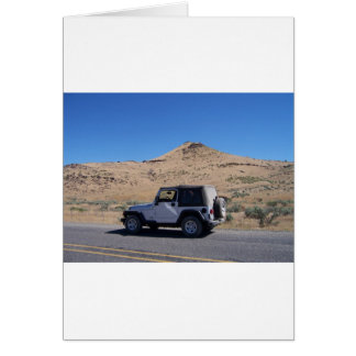 Jeep Greeting Card