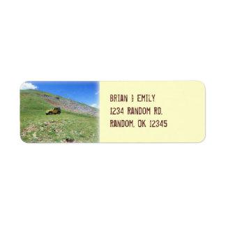 Jeep in spring wrangler custom address labels