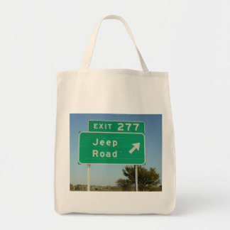 Jeep Road Sign