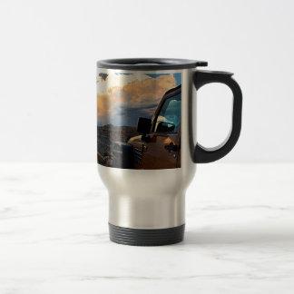 Jeep Sunset Travel Mug