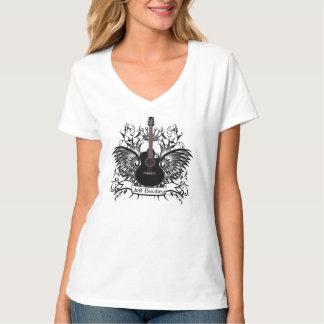 Jeff Boutiea Ladies V-Cut T-Shirt