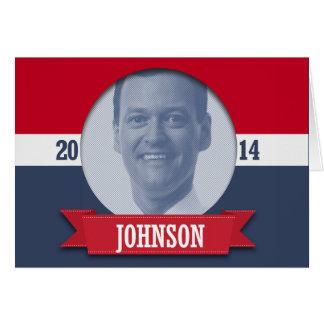 JEFF JOHNSON CAMPAIGN CARD