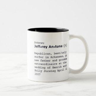 jeff Two-Tone coffee mug