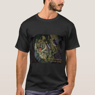 "Jeff Williams ""Tiger Acoustic Guitar"" T-Shirt"
