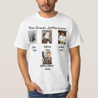 jeffer.jpg, jefferson-davis.jpg, tj.jpg, Bill_C... T-Shirt