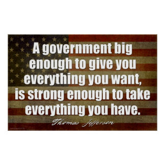 Jefferson: A government big enough... Poster
