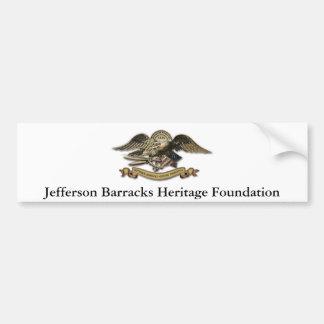 Jefferson Barracks Heritage Foundation Bumper Sticker