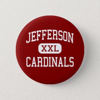 Jefferson - Cardinals - High - Alexandria 6 Cm Round Badge