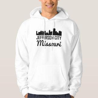 Jefferson City Missouri Skyline Hoodie