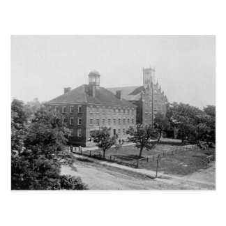 Jefferson College, Canonsburg, PA in 1860 Postcard