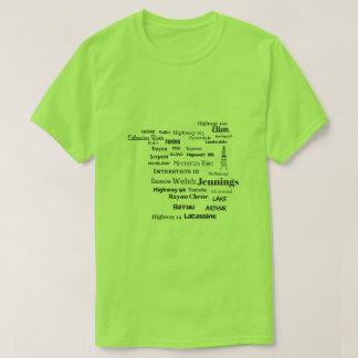 Jefferson Davis Parish Cajun Louisiana Tee Shirt