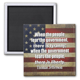 Jefferson: Liberty vs. Tyranny Magnet