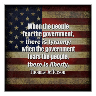 Jefferson: Liberty vs. Tyranny Poster