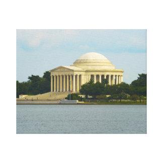 Jefferson Memorial in Washington DC Canvas Print