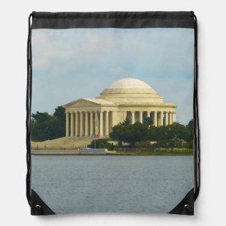 Jefferson Memorial in Washington DC Drawstring Bag