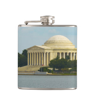 Jefferson Memorial in Washington DC Hip Flask