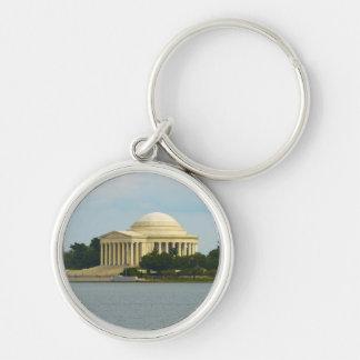 Jefferson Memorial in Washington DC Key Ring