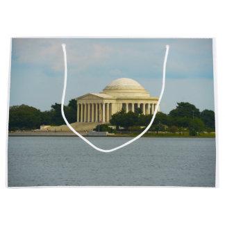 Jefferson Memorial in Washington DC Large Gift Bag