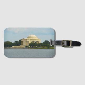 Jefferson Memorial in Washington DC Luggage Tag