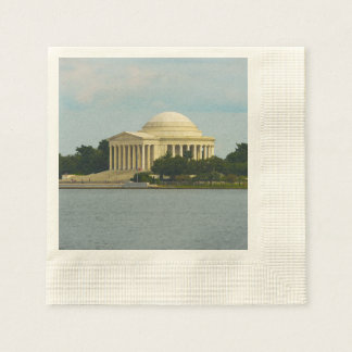 Jefferson Memorial in Washington DC Paper Napkin