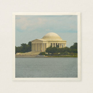 Jefferson Memorial in Washington DC Paper Napkins