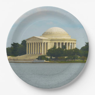 Jefferson Memorial in Washington DC Paper Plate