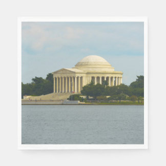 Jefferson Memorial in Washington DC Paper Serviettes