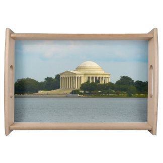 Jefferson Memorial in Washington DC Serving Tray