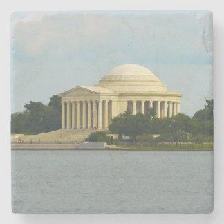 Jefferson Memorial in Washington DC Stone Coaster