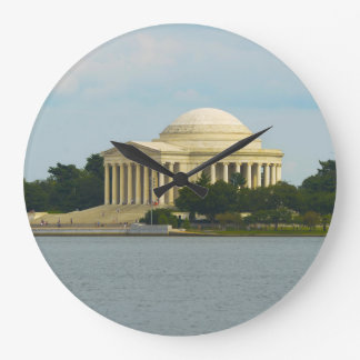 Jefferson Memorial in Washington DC Wall Clocks