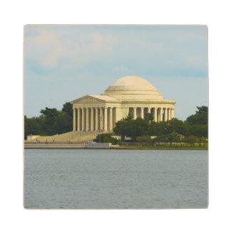 Jefferson Memorial in Washington DC Wood Coaster