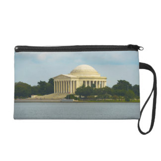 Jefferson Memorial in Washington DC Wristlet