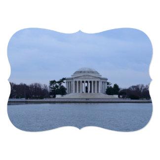 Jefferson Memorial 5x7 Paper Invitation Card