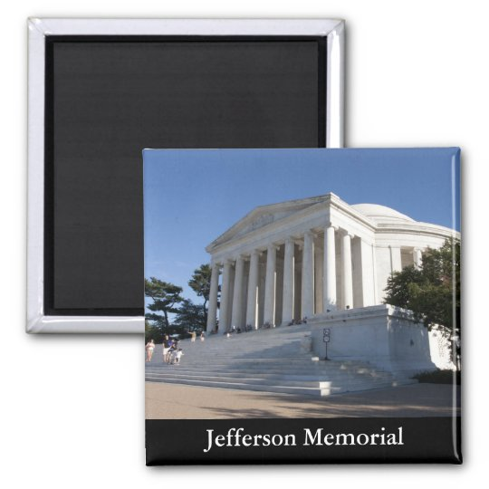 Jefferson Memorial Magnet