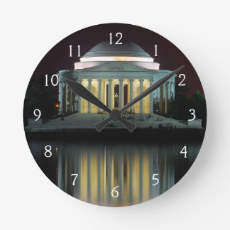 Jefferson Memorial Round Clock