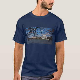 Jefferson Memorial with Cherry Blossoms T-Shirt