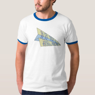Jefferson Paper Airplane T-Shirt