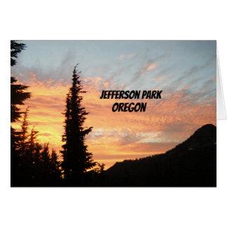 Jefferson Park, OR Card
