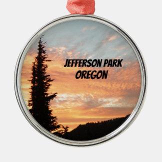 Jefferson Park, OR Metal Ornament