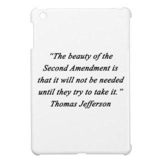 Jefferson - Second Amendment iPad Mini Covers
