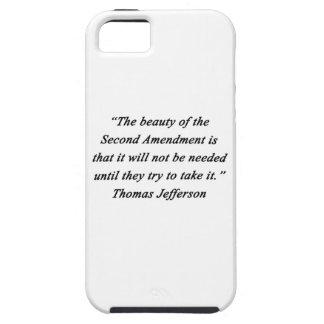 Jefferson - Second Amendment iPhone 5 Case