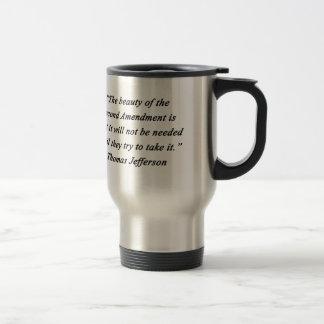 Jefferson - Second Amendment Travel Mug