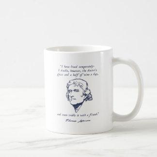 Jefferson - Wine Coffee Mugs