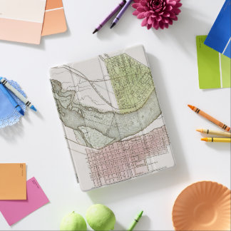 JEFFERSONVILLE, INDIANA: MAP iPad COVER