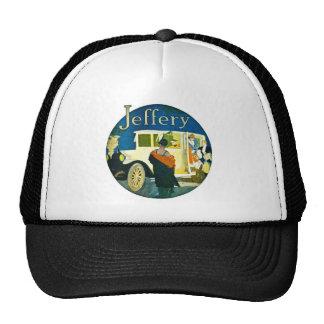 Jeffery Automobiles Advertisement Mesh Hat