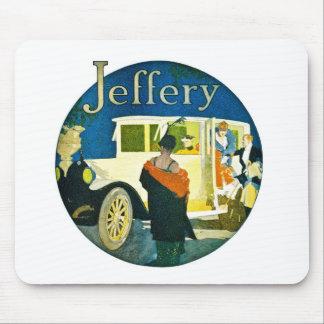Jeffery Automobiles Advertisement Mouse Pad