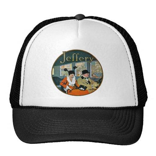 Jeffery Automobiles Advertisement - Vintage Hats