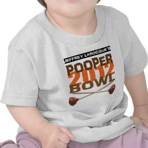 Jeffrey LaRocque Pooper Bowl 2012 T Shirt